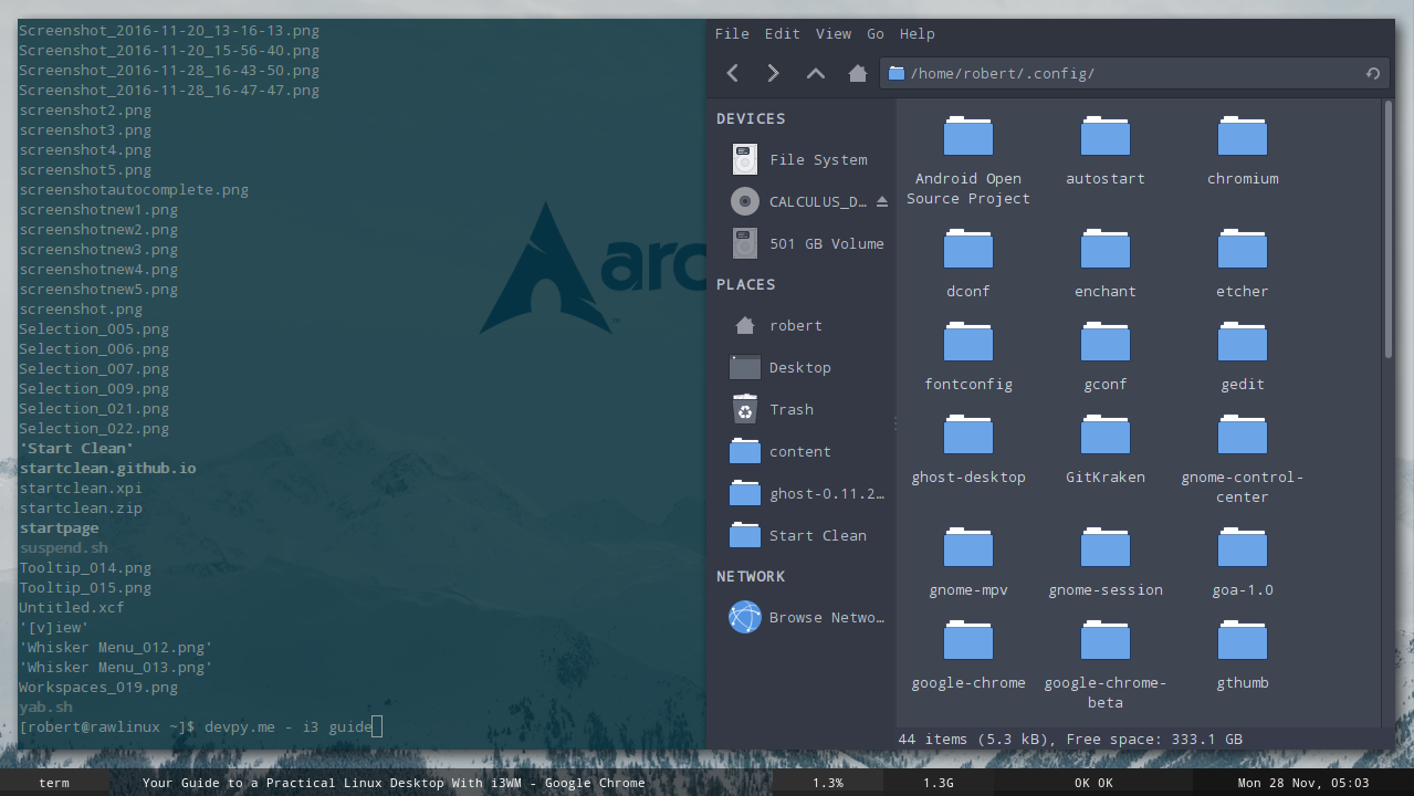 Your Guide to a Practical Linux Desktop With i3WM